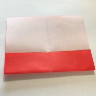 2色ハート折り紙簡単折り方