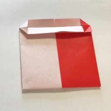 2色ハート折り紙簡単折り方手順9