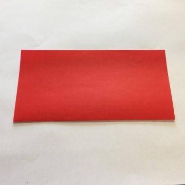 2色ハートの折り方手順1
