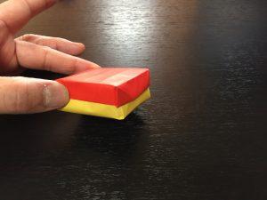 折り紙で簡単で丈夫な箱の折り方