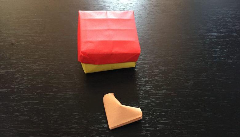 箱を折り紙で簡単手作り出来る折り方♪ふた付きで丈夫!色々使えるよ