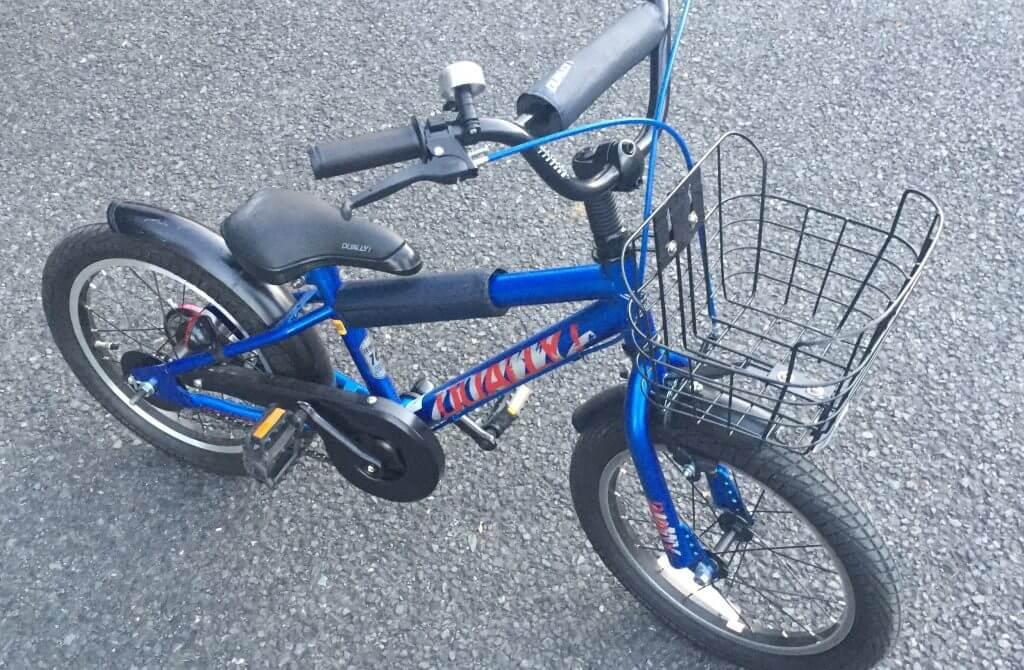 サイクルベースあさひで買った補助輪付き自転車