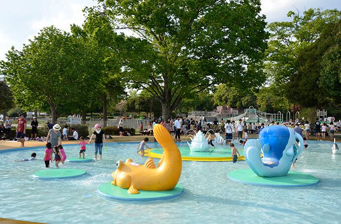 昭和記念公園の水遊び広場解説!春のイベント・無料の期間が嬉しいね♪