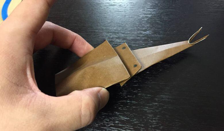 カブトムシを折り紙で簡単に作る方法!折り方は超簡単♪虫を触れないパパ必見!