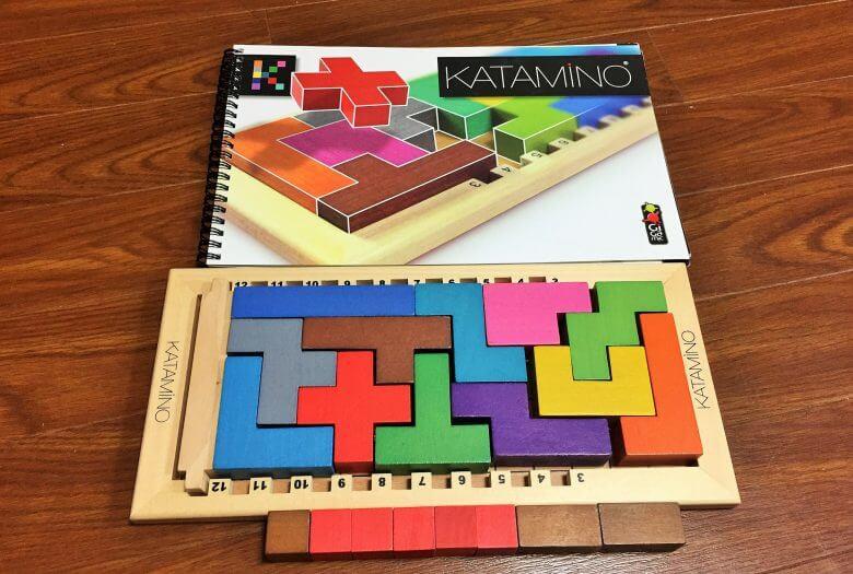 【秀逸なおすすめ知育パズル】カタミノの遊び方・コツと効果を紹介します!
