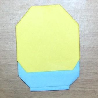 ミニオンズ折り紙簡単折り方