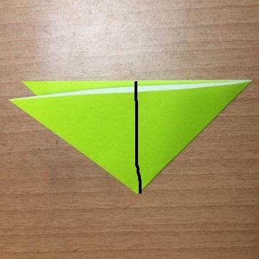 4カマキリ折り紙簡単折り方