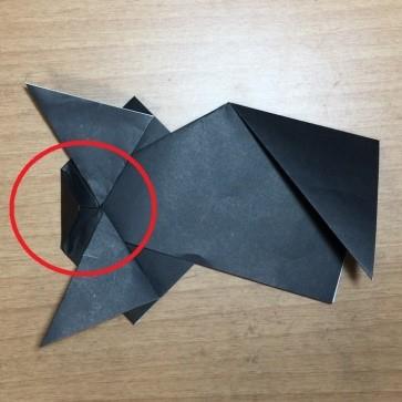 猫の折り紙の折り方簡単に作れるし黒の折り紙ならジジにもなるよ