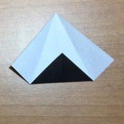 ハロウィン折り紙魔女の帽子簡単な折り方