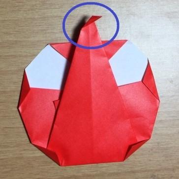 りんごの折り紙♪簡単な折り方はコレ!園児でも作れるよ~