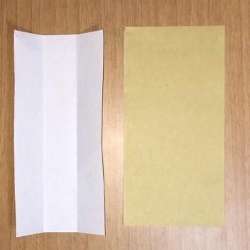 ドーナツの折り紙、ハロウィンで使えるお菓子の簡単な折り方