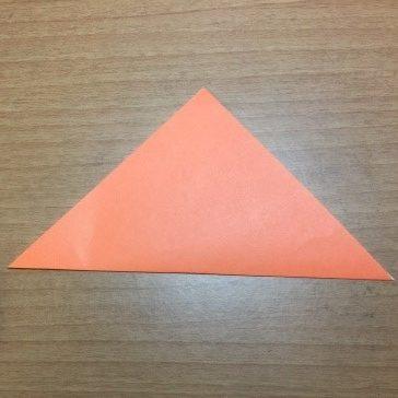 カボチャの折り紙の簡単な折り方ジャックオーランタン