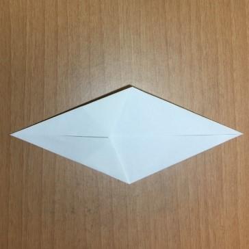 ハロウィンの折り紙お化けの簡単な折り方作り方