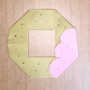 【ハロウィン】お菓子の折り紙♪ドーナッツの簡単な折り方・子供と美味しく作ろう