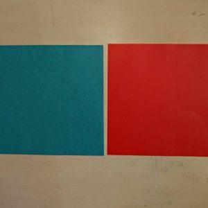 折り紙で簡単なサンタエッグスタンド