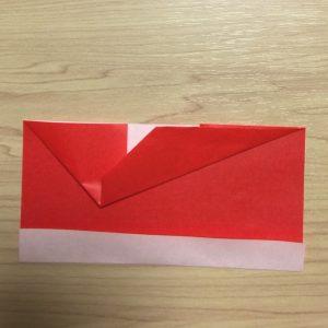 子供に人気!立体のかわいくて簡単な折り紙のサンタブーツ