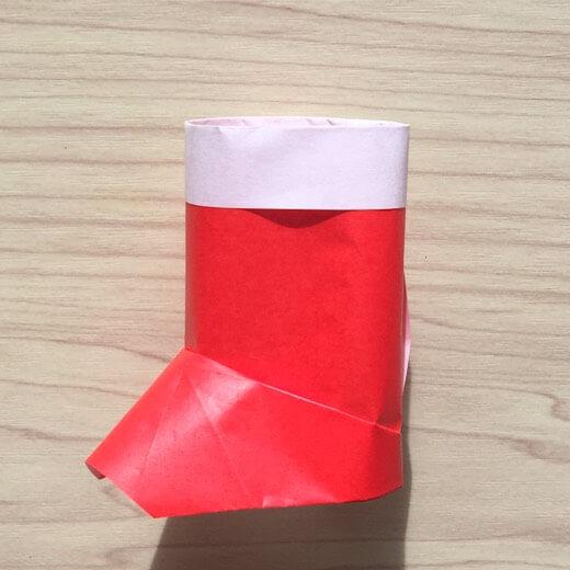 折り紙のサンタブーツは子供に大人気!立体のかわいくて簡単な折り方はコレ♪