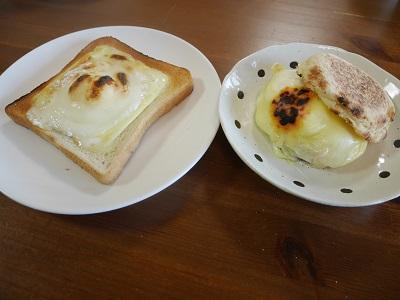チーズ雪見だいふくトーストの作り方レシピカロリー