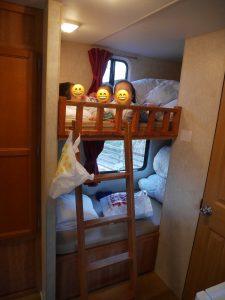 プレジャーフォレストでキャンプ宿泊