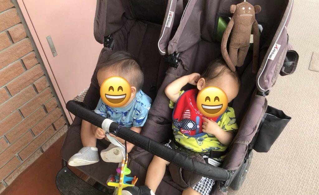 エアバギーココダブル双子ベビーカー