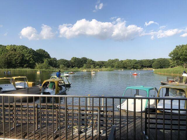 昭和記念公園、ボート 、料金、営業時間