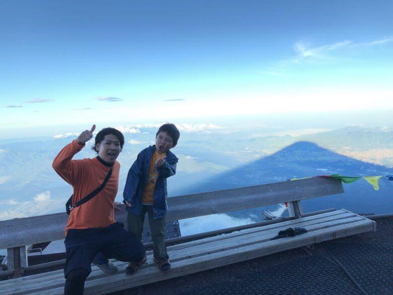 富士山八合目影富士2