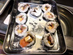 寿司,リメイク,小麦粉