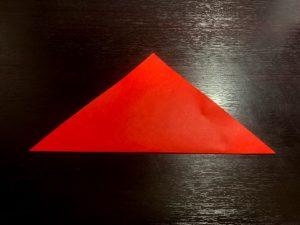 パプリカ折り紙の折り方2
