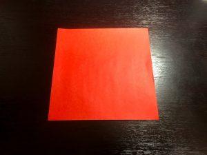 パプリカ折り紙の折り方1