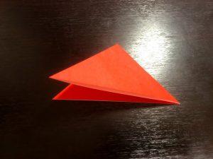 パプリカ折り紙の折り方3