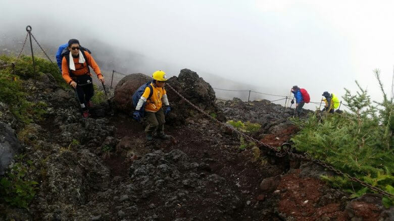 富士山 まだまだ6才あるけます