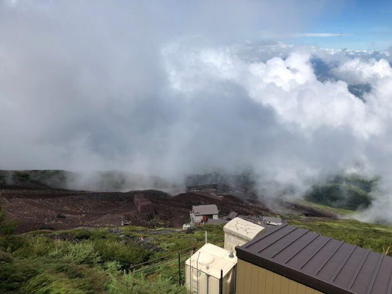 富士山 7合目 景色