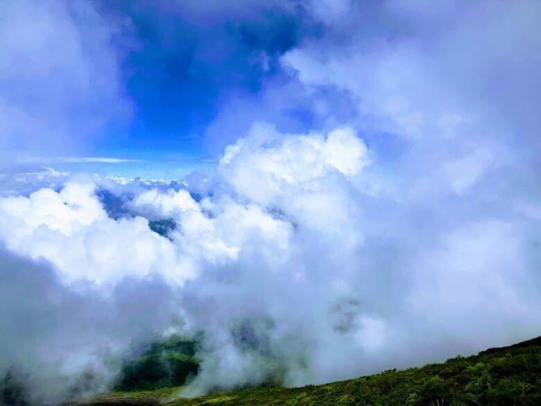 富士山 7合目景色2