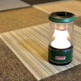 【コールマンバッテリーガードのレビュー】防災にも使えて初心者におすすめの暖色最強LEDランタンだと思う!