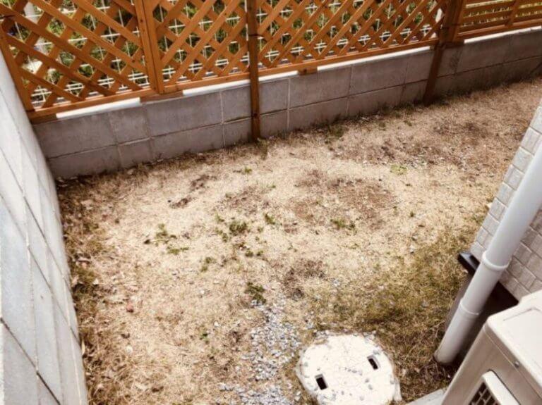 砂場DIY予定地アップ